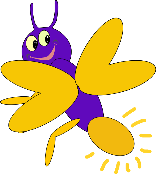 banner library library Bug vector firefly. Purple clip art at