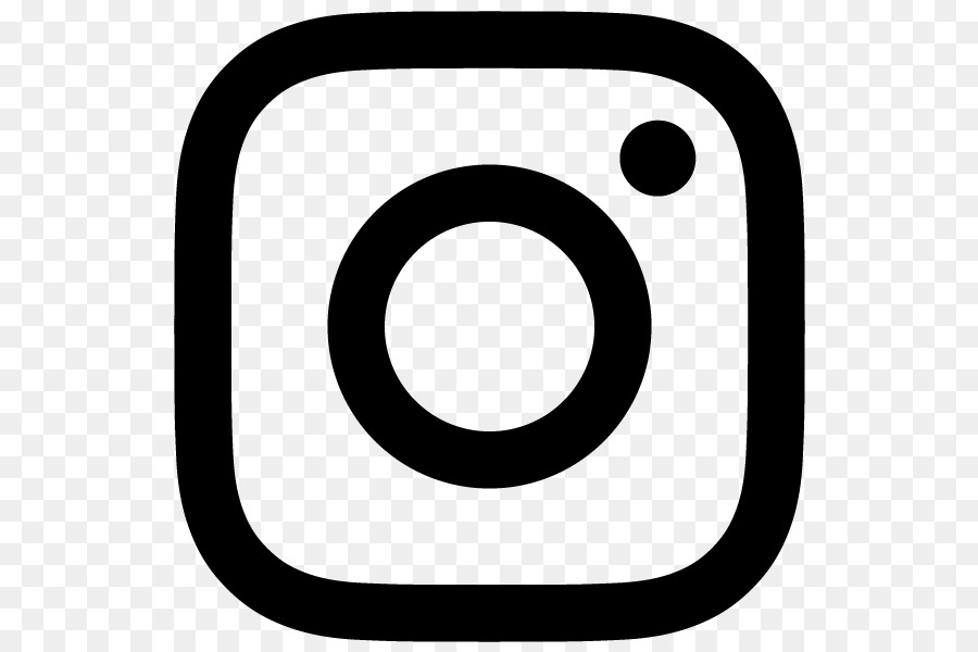 graphic royalty free download Instagram clipart. White logo text circle