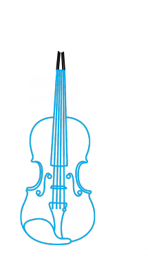 banner free stock Musical Instrument Drawing at GetDrawings