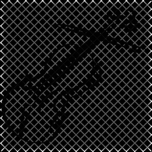 black and white library Cello Icon