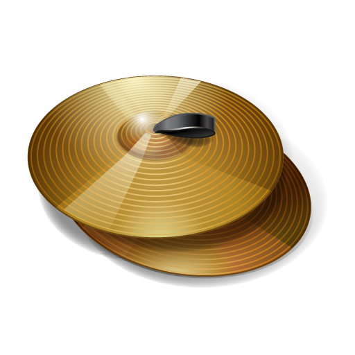 clipart free Cymbals Icon