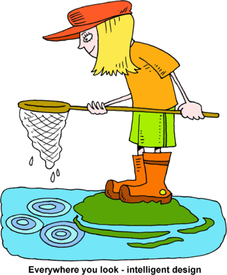 clip free library Intelligent clipart. Image girl with fishing