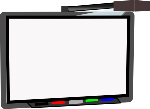 jpg freeuse download Small Smart Board Blank Clip Art at Clker