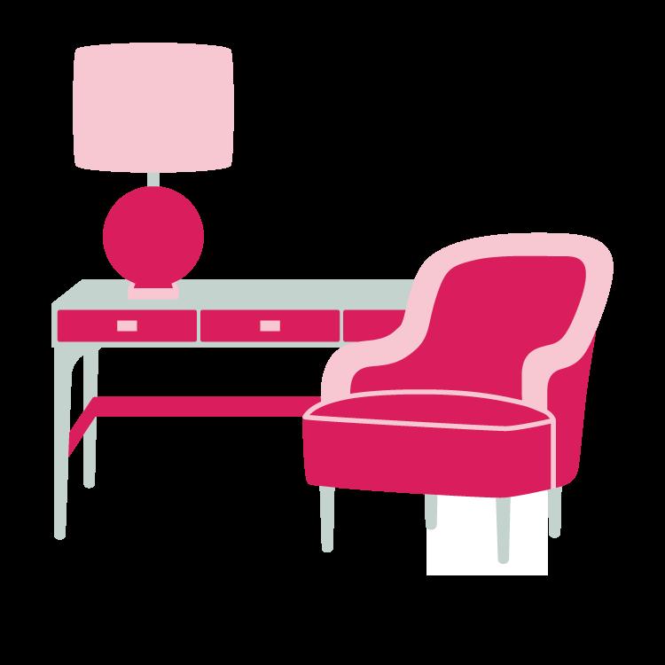 graphic interior design clipart #62164620