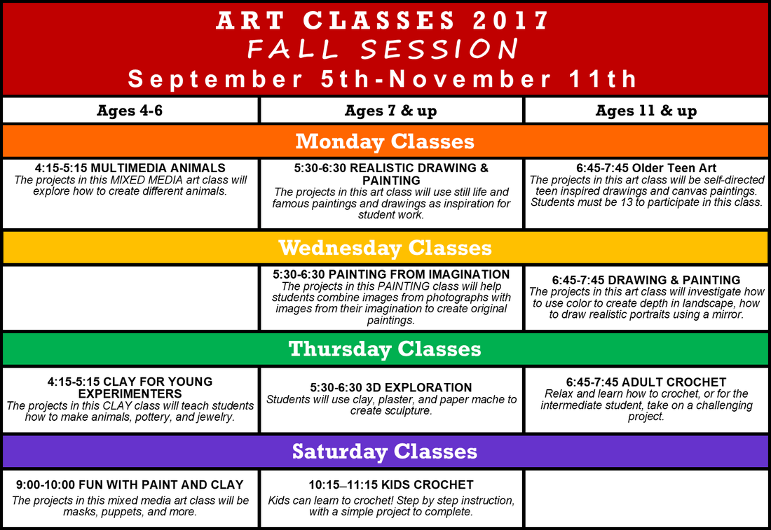 clip library download FALL Art Classes