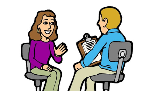 jpg library library Interview clipart. Free job cliparts download