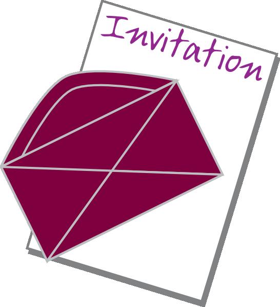 svg transparent download Clip art at clker. Invitation clipart.