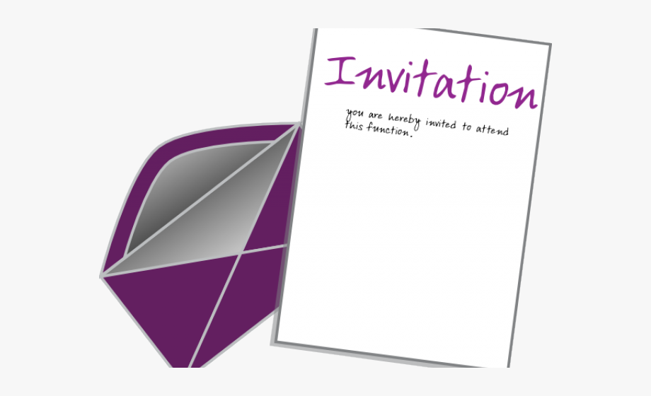 clipart black and white stock Invitation clipart. Card clip art free.