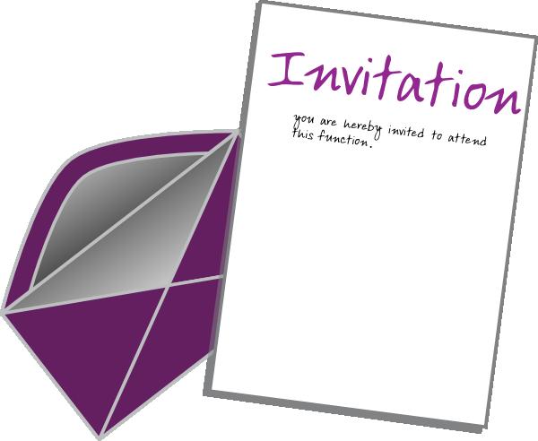 picture free Invite card clip art. Invitation clipart.