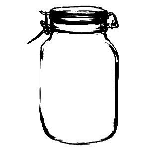 picture free stock Mason clipart drawing. Sweetly scrapped more jars.