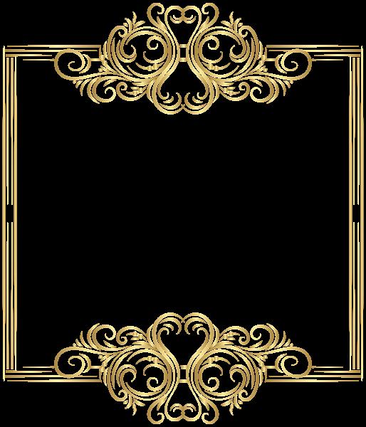 image download Gold Border Frame PNG Clip Art