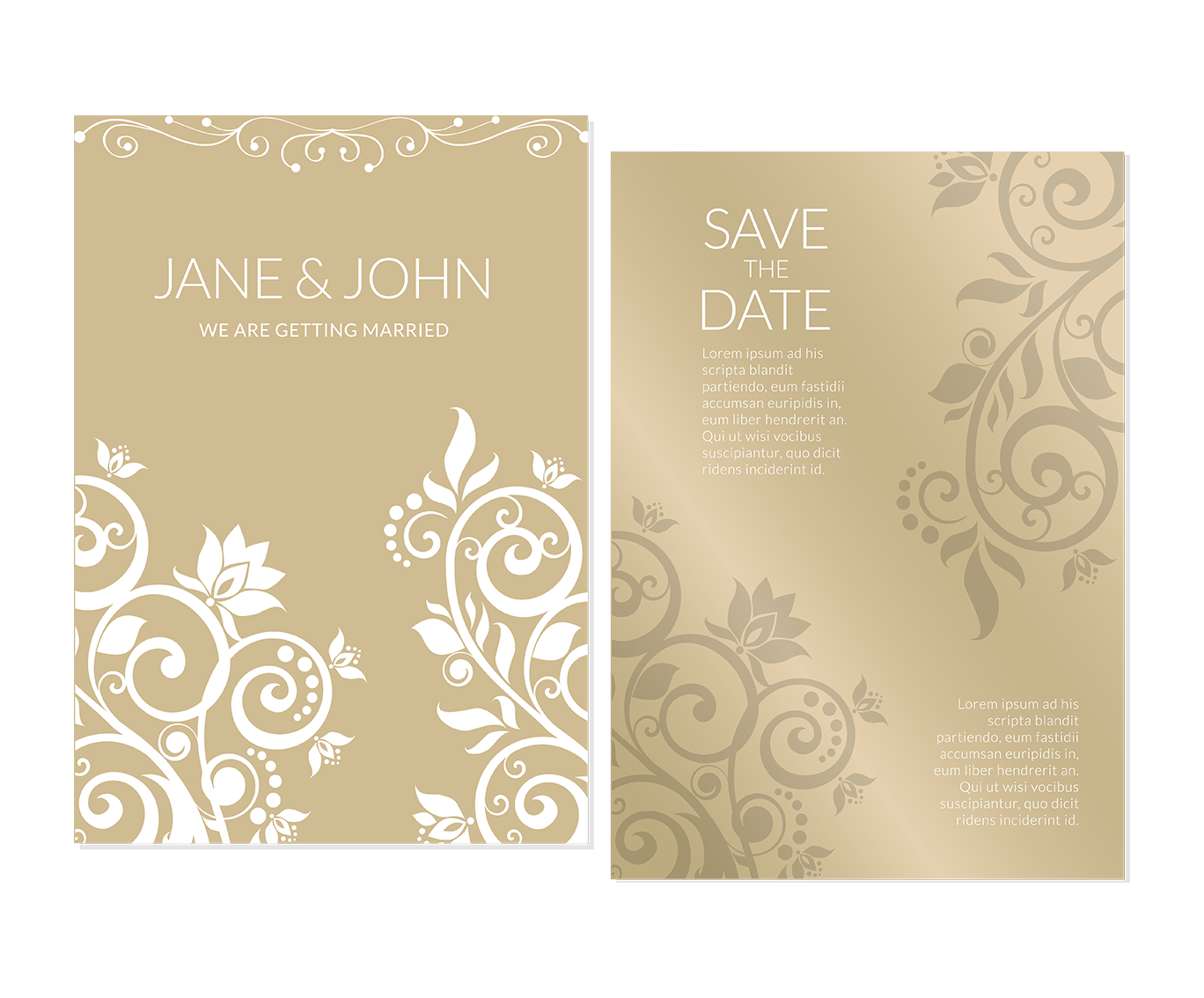 graphic royalty free download Wedding invitation Marriage Flower