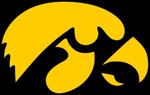 image free stock Iowa Hawkeyes Logo Vector