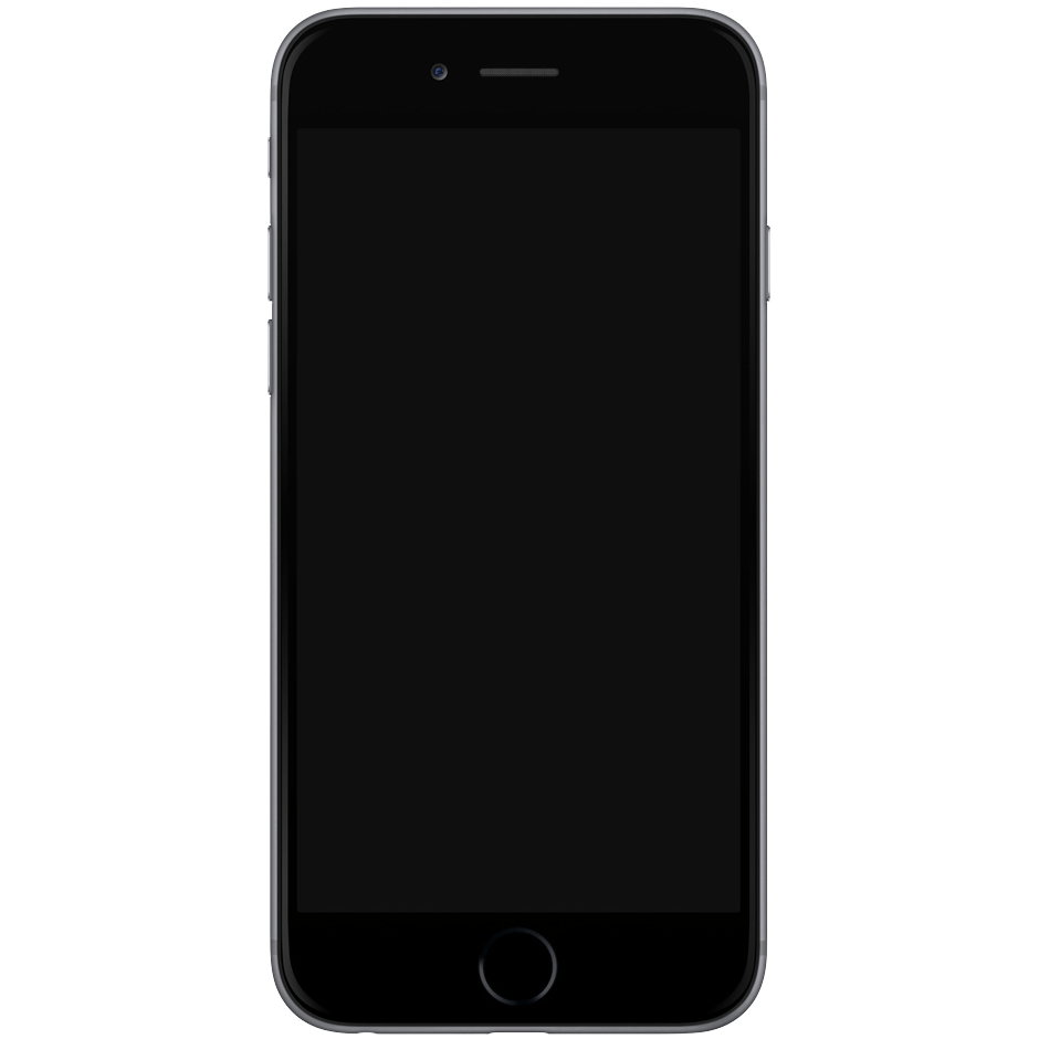 png free download Iphone clipart black and white. Template transparent png stickpng