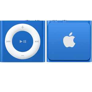 clip library download iPod shuffle Blue