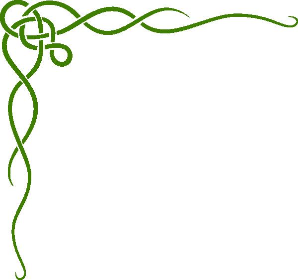 png transparent Irish border clipart. Green clip art at