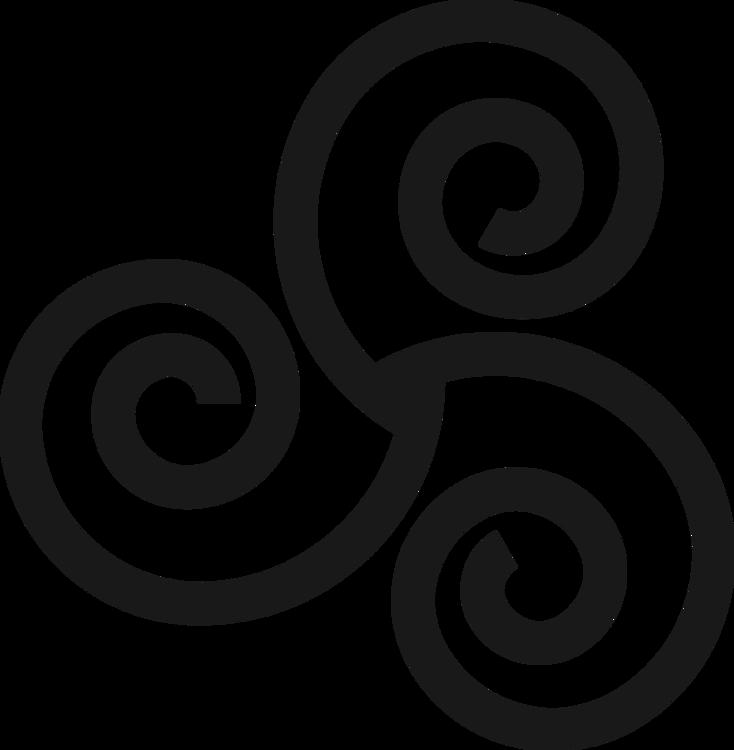picture black and white download Triskelion peace symbols logo. Irish clipart black and white