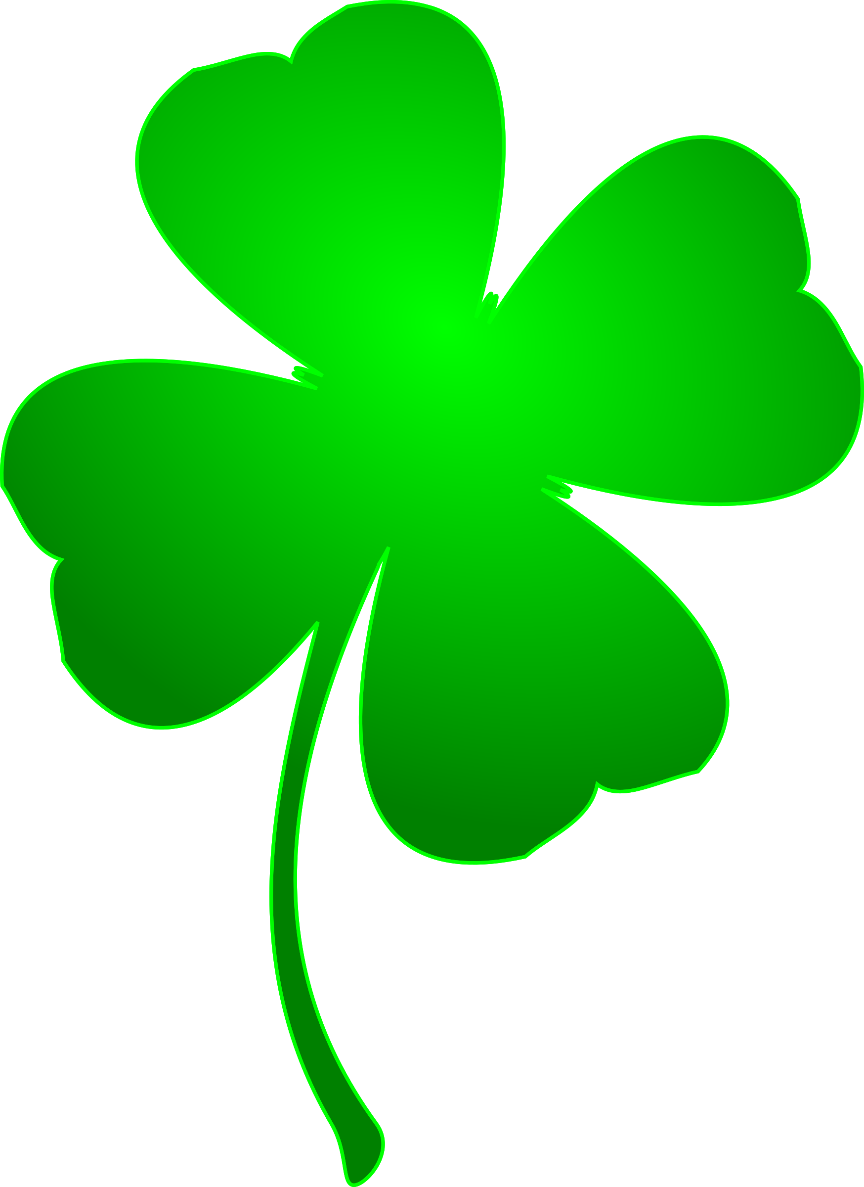 clip art freeuse stock Luck clipart mini. Irish lucky clover big.