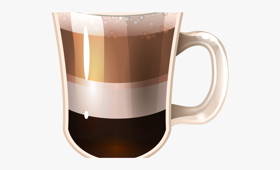 vector black and white download Irish coffee clipart. Cafe drink png free