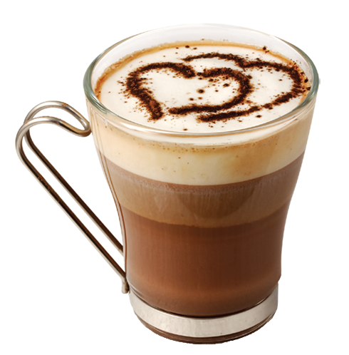 image freeuse library Irish coffee clipart. With hearts transparent png