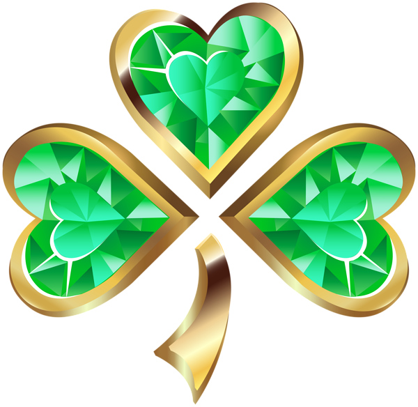 graphic black and white download Diamond Irish Shamrock Transparent PNG Clip Art