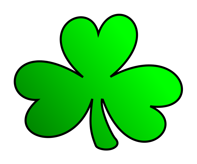 picture royalty free download Irish . Shamrock clipart