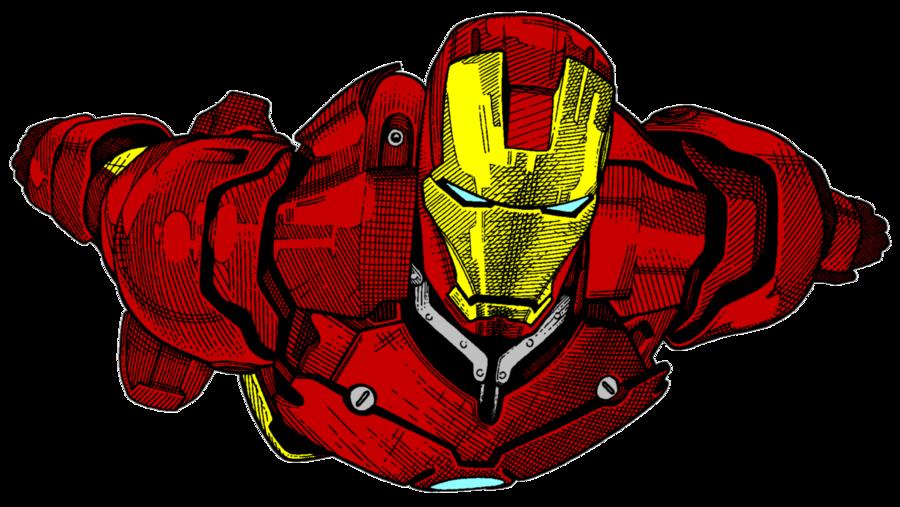svg transparent Iron Man Drawing Color Art Sketch