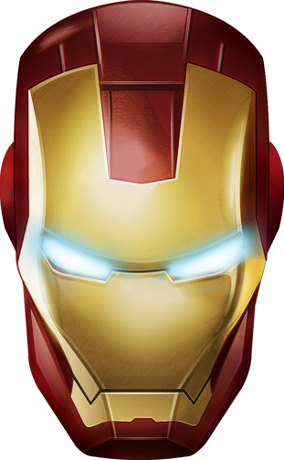 clip art royalty free stock Iron Man Logo