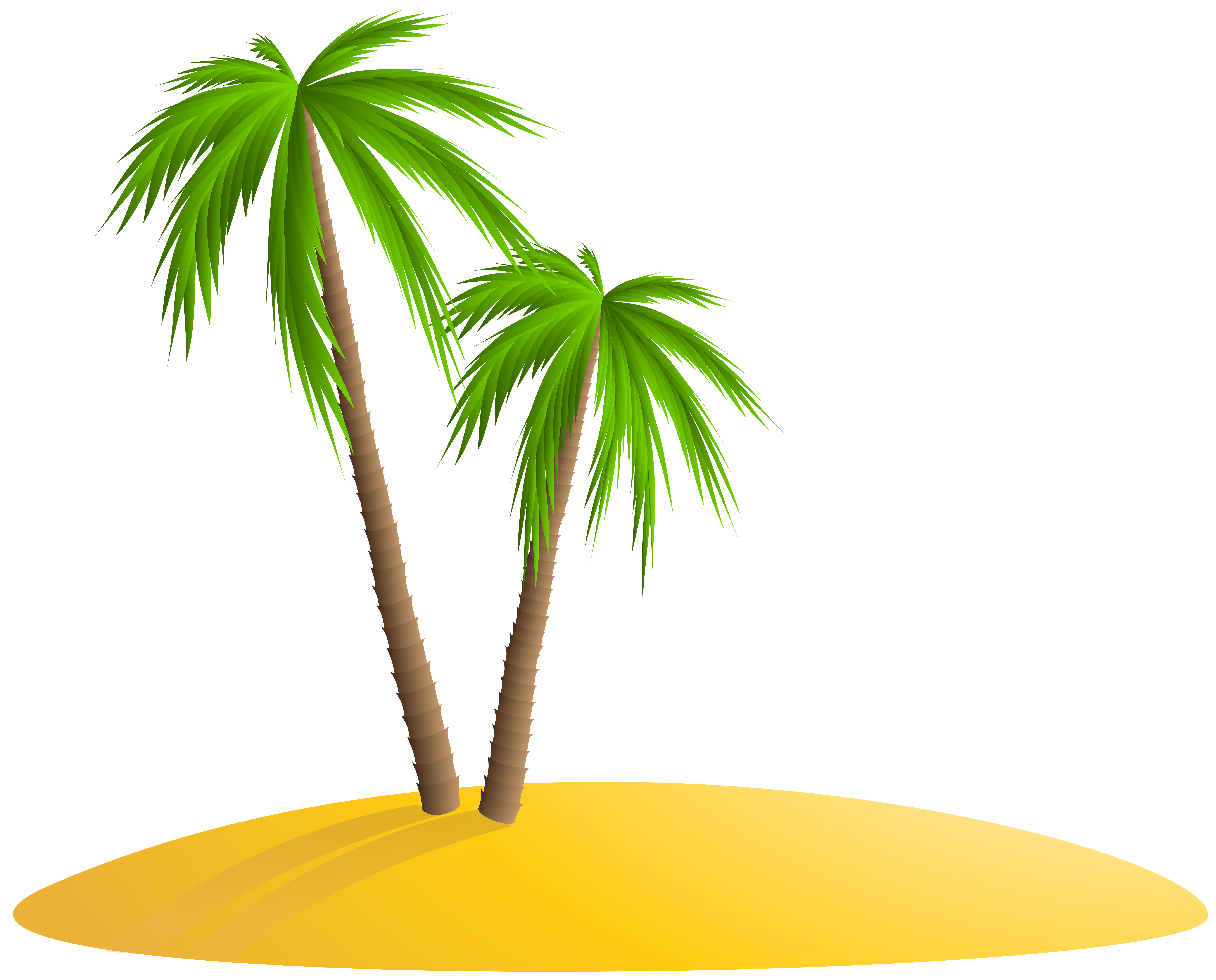 jpg freeuse stock Palm png clip art. Island clipart.