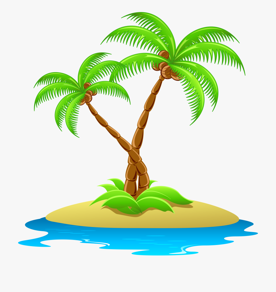 png transparent library Island clipart. Little tropical cliparts and.