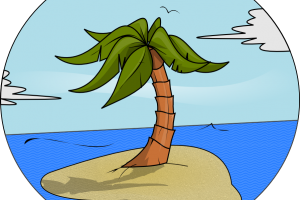 royalty free library Island clipart. Cute free on dumielauxepices.