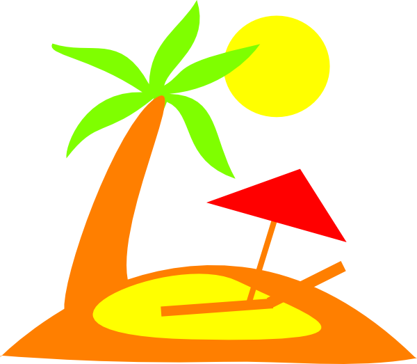 free Clip art at clker. Island clipart.