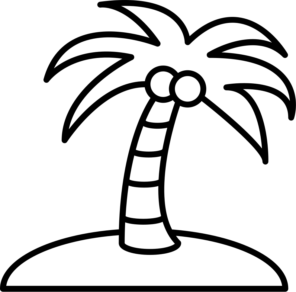png royalty free stock Palm trees clipart black and white. Tree drawing png at