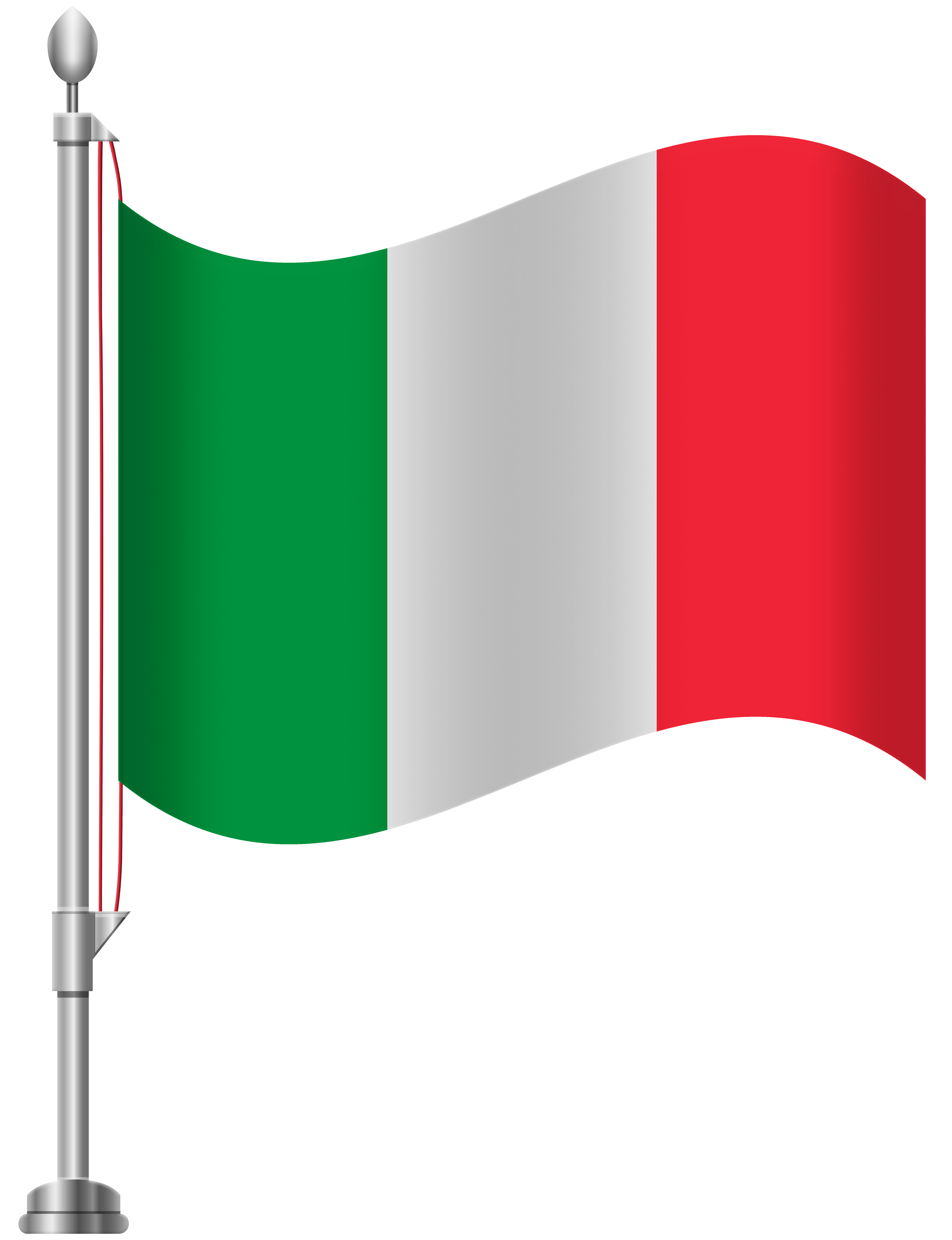 clip black and white Italy flag png clip. Italian clipart.