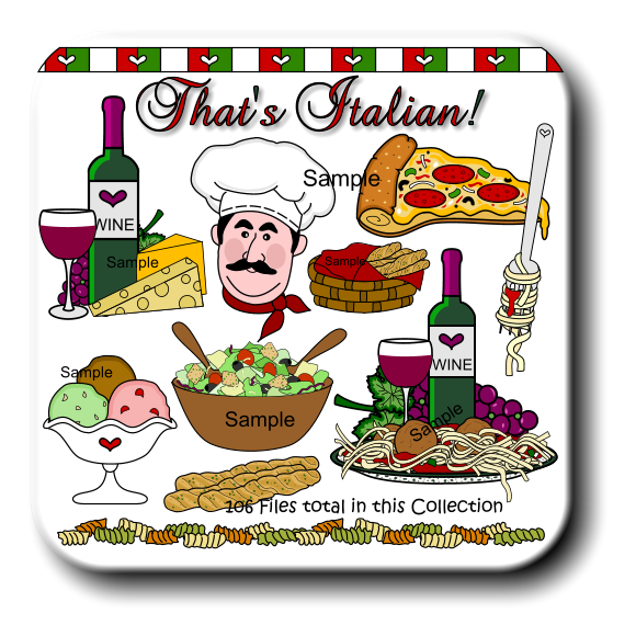 png transparent download Dining . Italian clipart.