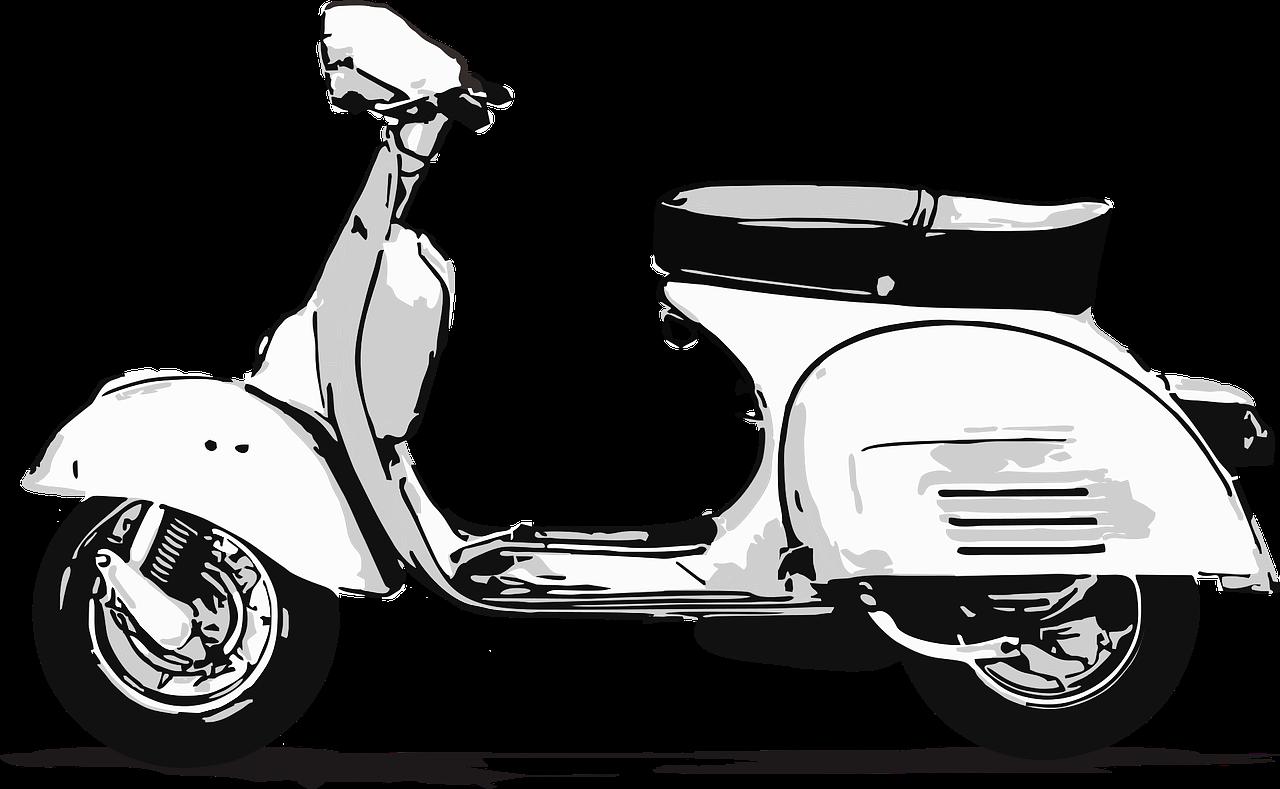 clip art free library Travel italian transportation vehi. Scooter clipart motor vehicle