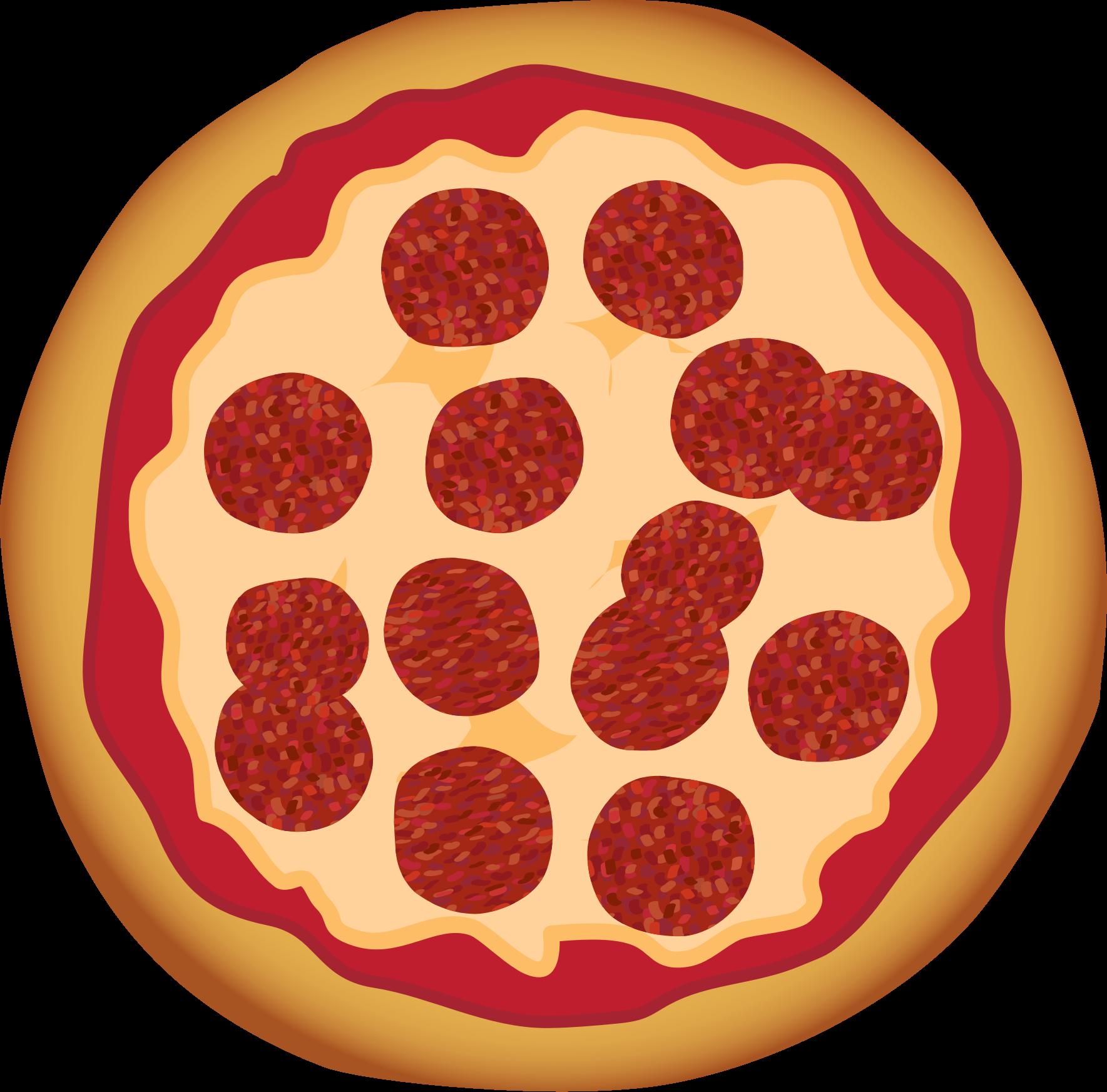 jpg transparent stock Top pepperoni clip art. Italian clipart peperoni pizza