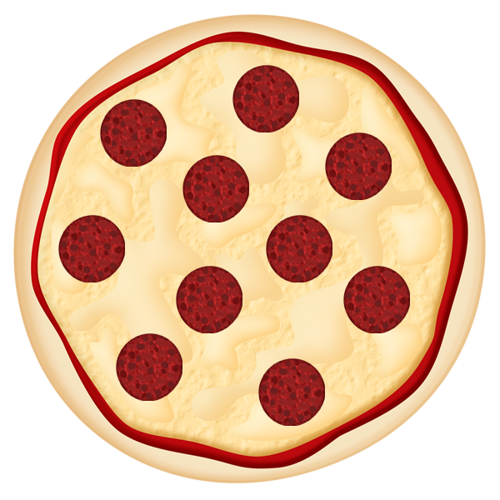 clip art freeuse download Italian clipart peperoni pizza. Pepperoni pinterest food clip