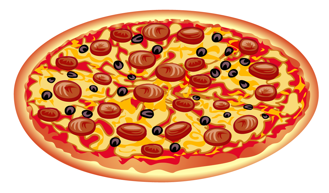 graphic transparent stock Pizza border clipart.  collection of transparent