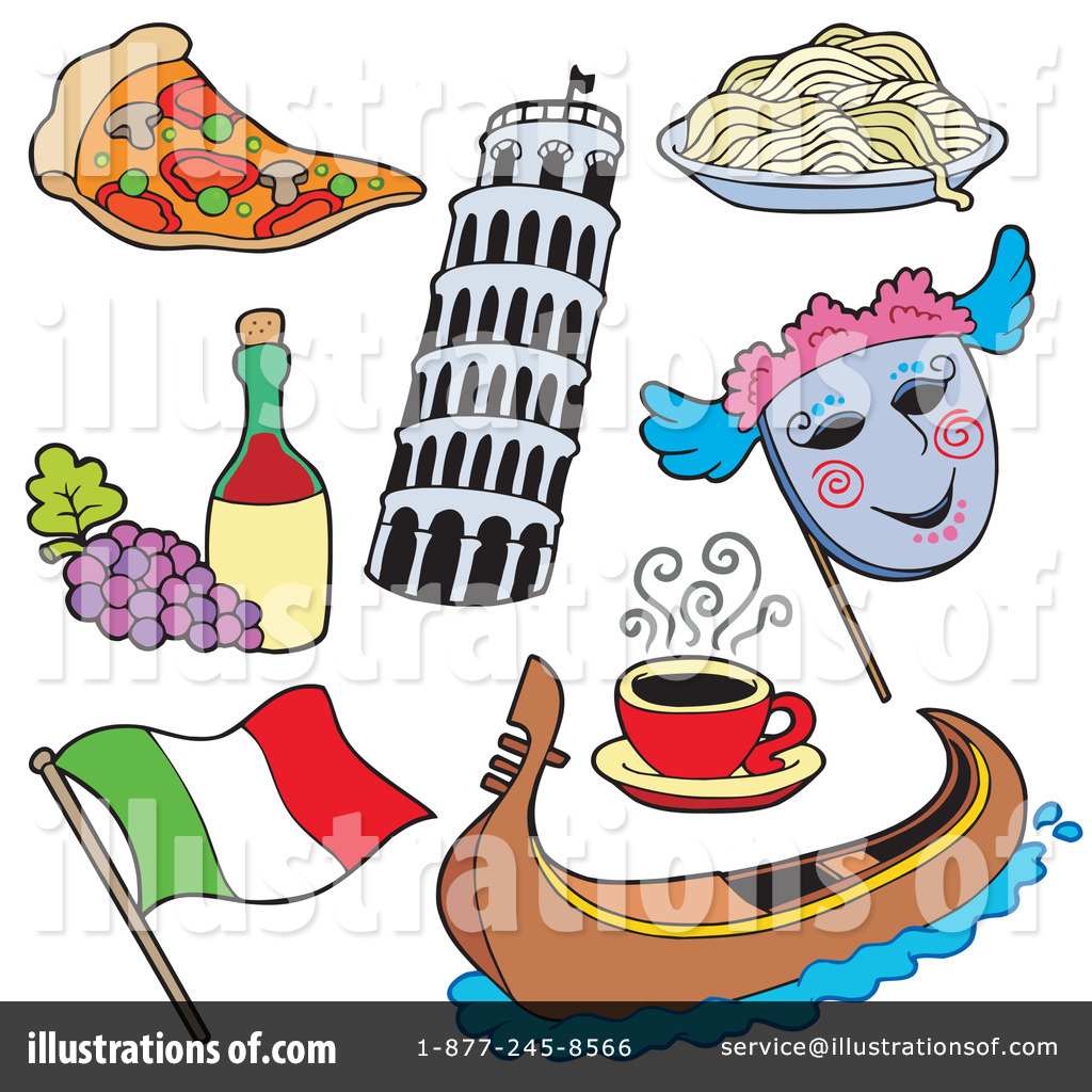 picture black and white Illustration by visekart . Italy clipart.