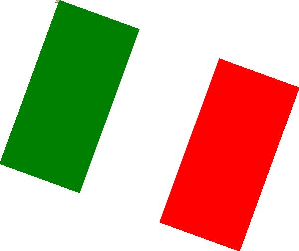 svg royalty free download Italian Flag Clip Art at Clker