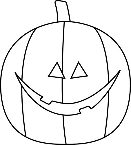 clip art black and white Jack o lantern clipart black and white. Clip art