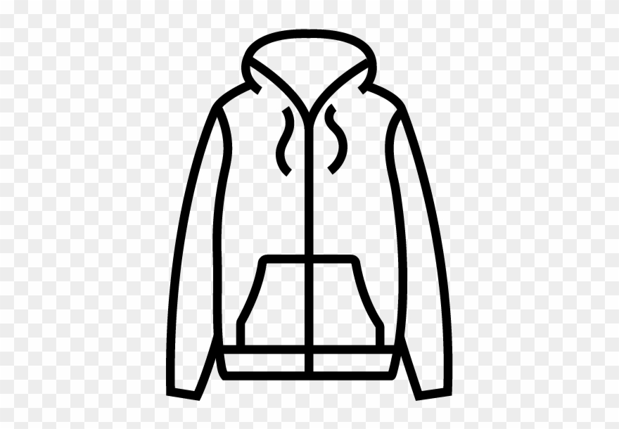 graphic library Jacket clipart. Jackets light black and.