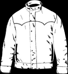 picture transparent Jacket clipart. Clip art at clker.