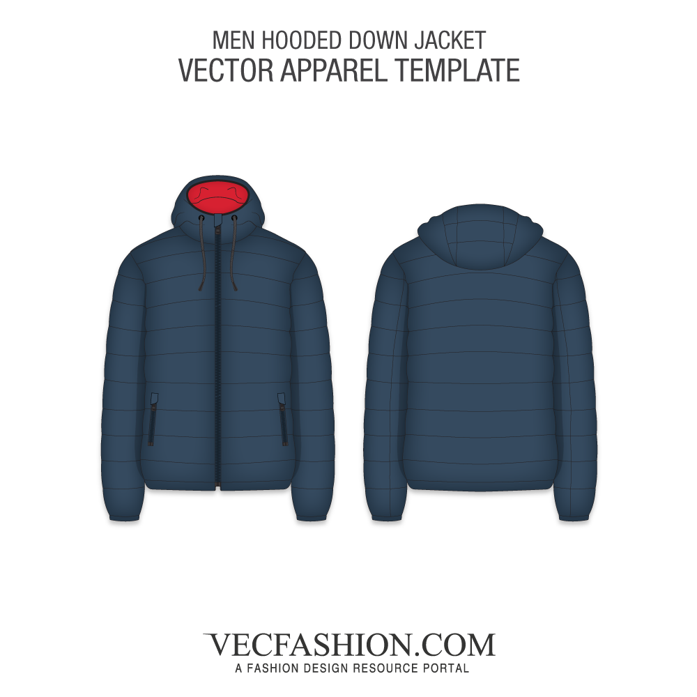 png library library Mens Hooded Down Jacket