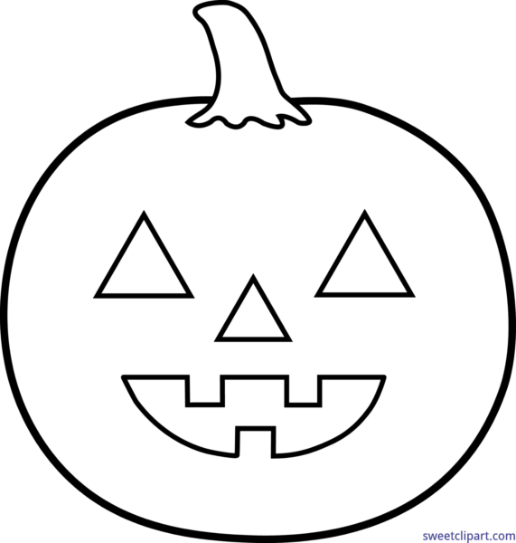 png free stock All clip art archives. Jack o lantern clipart black and white