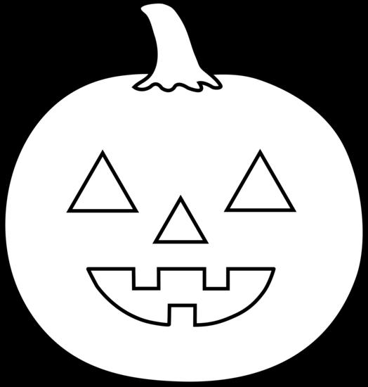 black and white library Jack o lantern black and white jack lantern clipart
