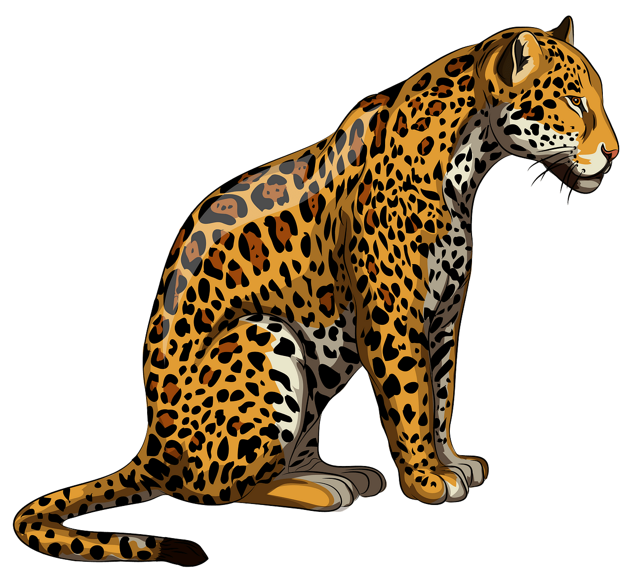 banner royalty free stock Free download creazilla . Jaguar clipart