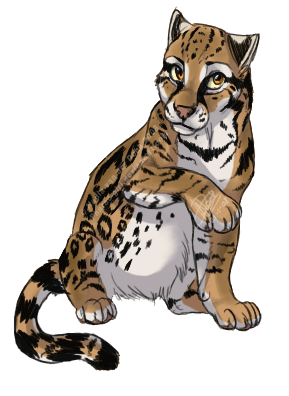 picture freeuse download Ocelot Clipart cartoon