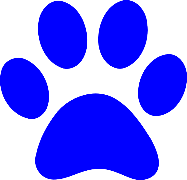 svg black and white download Paw Print Clipart